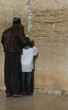 Prayer at Western wall Stock Photography