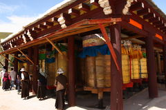 Prayer wheel Stock Photos