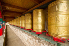 Prayer wheel Stock Images