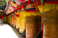 Prayer wheel Stock Image