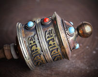 Prayer Wheel close up. Royalty Free Stock Photography
