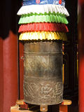 Prayer wheel decorated Royalty Free Stock Images