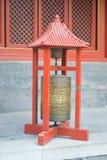 Prayer wheel, Lama Temple, Beijing, China Stock Photo