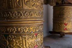 Prayer wheel in Leh Royalty Free Stock Image
