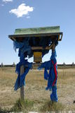 Prayer Wheel, Mongolia Stock Photo