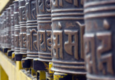Prayer wheel Royalty Free Stock Photography