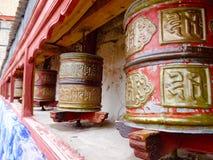 Prayer Wheel at Shey Palace, Leh, India Stock Photography