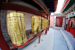 Prayer wheels Stock Photos