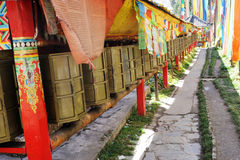 Prayer wheels Royalty Free Stock Image