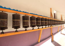 Prayer wheels. Stock Image