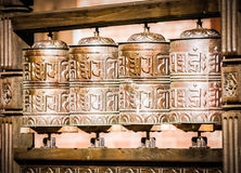 Prayer wheels Royalty Free Stock Image