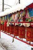 Prayer wheels Royalty Free Stock Images