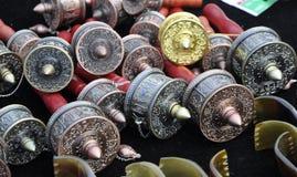 Prayer Wheels in Tibet Royalty Free Stock Image