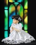 Prayerful кукла Стоковые Изображения