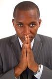 Prayerful Mens Royalty-vrije Stock Foto