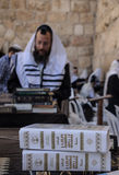 Prayers at the western wall Stock Image