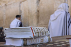 Prayers at the western wall Royalty Free Stock Photography