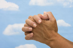 Praying Imagens de Stock