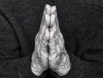 praying stock foto