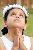 Praying Royalty Free Stock Image
