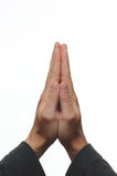 Praying. Hands Royalty Free Stock Image