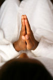 Praying Royalty Free Stock Photo