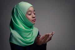 praying royalty-vrije stock afbeelding