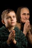 Praying Royalty Free Stock Photos