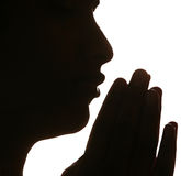 Praying Foto de Stock Royalty Free