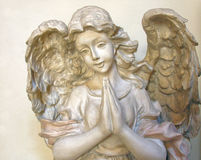 Praying Angel 2 Stock Images