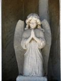 Praying angel Royalty Free Stock Photos
