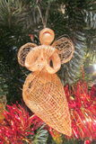 Praying Angel Christmas Tree Decoration Royalty Free Stock Photography