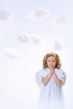 Praying angel Stock Photography