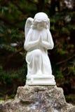 Praying angel Royalty Free Stock Photography