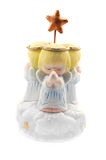 Praying Angels. A child's musical windup toy Royalty Free Stock Image