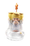 Praying Angels. A child's musical windup toy Royalty Free Stock Photography