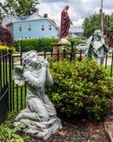 Praying Angels royalty free stock photos