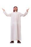 Praying arab man Stock Images