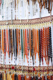 Praying beads of color Royalty Free Stock Images