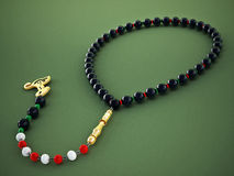Praying beads. 3D illustration Stock Images