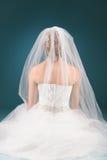 Praying bride Stock Image