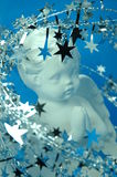 Praying Cherub Royalty Free Stock Images