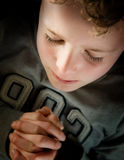 Praying Child Royalty Free Stock Photo