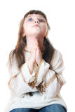 Praying child Stock Image