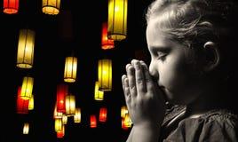 Praying child. Stock Image