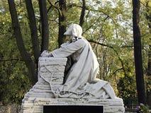 Praying Christ. Statue of praying Jesus Stock Images