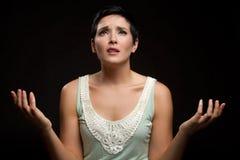 Praying da mulher Imagens de Stock