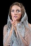 Praying da mulher Imagem de Stock Royalty Free