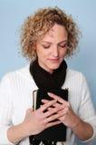 Praying da mulher Fotos de Stock