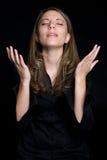 Praying da pessoa Fotografia de Stock Royalty Free